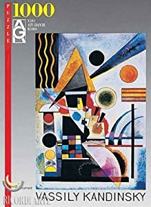 "International Publishing 2801N09673G - Gold""KANDINSKY ROETHEL,T. II, N°734, SCHAUKELN, 1925, P. 690""  1000 Teile Puzzle"