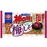 亀田製菓 亀田の柿の種梅しそ6袋詰 182g 1ケース(12袋)