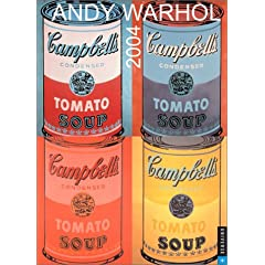 ANDY WARHOL ENAGEMENT CALENDAR 2004