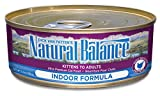 Natural Balance Canned Cat Food, Indoor Formula, 24 x 6 Ounce Pack