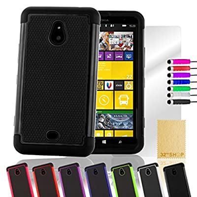 32nd case cover for Nokia Lumia 1320 - book / flip / wallet / designer / pattern / plain / card slot from 32nd