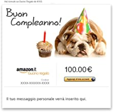 Buono Regalo Amazon.it - E-mail - Un anno in più