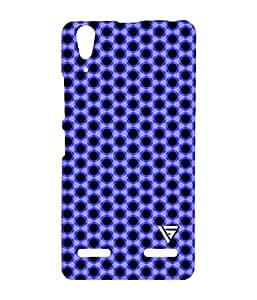 Vogueshell Art Pattern Printed Symmetry PRO Series Hard Back Case for Lenovo A6000