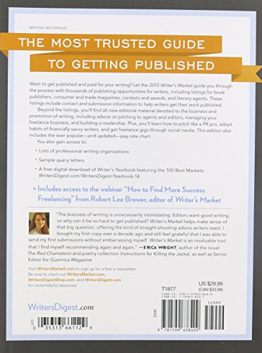 2015 Writer's Market: The Most Trusted Guide to Getting Published