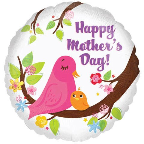 46cm Mother's Day Birds Vlp (1 per package)