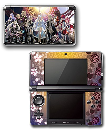 Fire Emblem Fates Birthright Conquest Marth Video Game Vinyl Decal Skin Sticker Cover for Original Nintendo 3DS System (Fire Emblem Sticker compare prices)