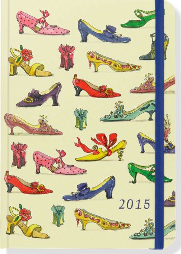2015 Shoes Weekly Planner (16-Month Engagement Calendar, Diary)