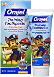 Orajel Toddler Training Toothpaste Tooty Fruity Flavor - 1.5 oz(Pack of 3)