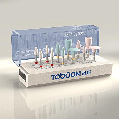 Zeta® DB Dental Composite Resin Finishing High Brightness Polishing Kit Tooth Polishier (Pack of 12) (Resin Polishing Kit compare prices)