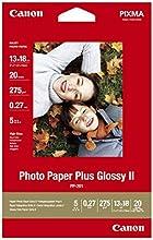 Comprar Canon 2311B018 - Papel Fotográfico Plus, 13x18 cm, 20 hojas brillo, 260g/m2, Unidades contenidas:1
