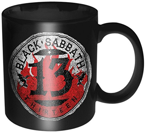 Black Sabbath 13 Tazza, Nero