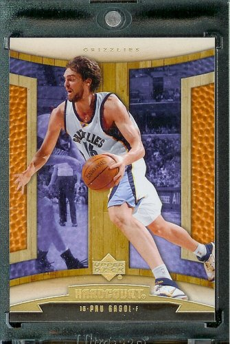 2006-07 Upper Deck Hardcourt #48 Pau Gasol Memphis Grizzlies Basketball Card - Mint Condition - In Protective Display Case - Buy 2006-07 Upper Deck Hardcourt #48 Pau Gasol Memphis Grizzlies Basketball Card - Mint Condition - In Protective Display Case - Purchase 2006-07 Upper Deck Hardcourt #48 Pau Gasol Memphis Grizzlies Basketball Card - Mint Condition - In Protective Display Case (Upper Deck, Toys & Games,Categories,Games,Card Games,Collectible Trading Card Games)