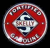 Skelley Gasoline Porcelain Sign