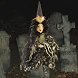 "Halloween Decorations -""Agatha"" Wicked Witch - Plush Halloween Witch"