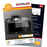 AtFoliX FX-Antireflex screen-protector for Sony DSLR-A390L - Alpha (3 pack) - Anti-reflective screen protection!