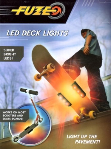Fuze Led Deck Lights - Lights Up Scooter Or Skateboard