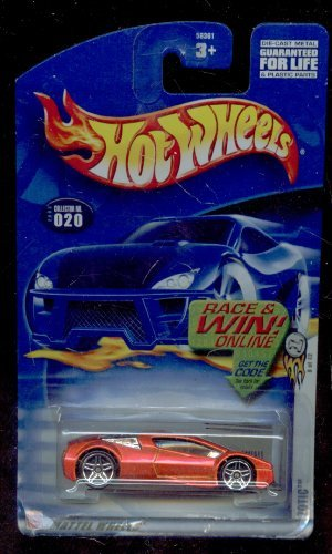 Hot Wheels 2003-020 Zotic 8 of 42 Race and Win Card 1:64 Scale