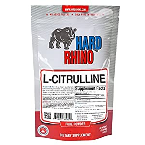 Hard Rhino L-Citrulline Powder, 125 Grams