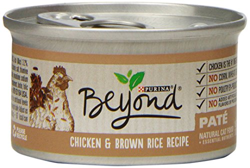 Purina Beyond Paté Chicken & Brown Rice Recipe Wet Cat Food