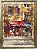 フランス風景 立体複製画 「カーサ ミーア イタリアーノ」 モダン絵画 インテリア