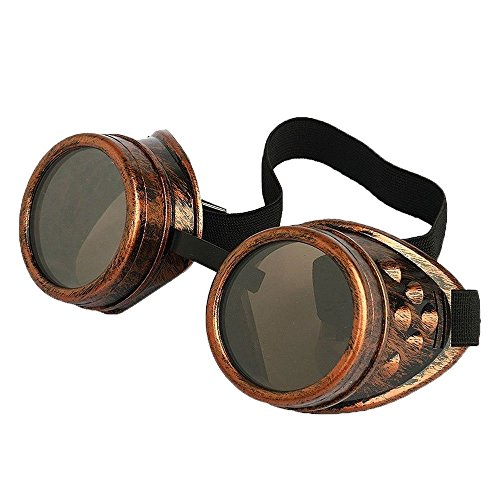 Generic-Cyber-Goggles-Steampunk-Welding-Goth-Cosplay-Vintage-Goggles-Rustic-Copper
