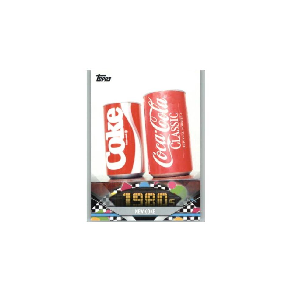 2011 American Pie #149 New Coke   A Celebration of American Pop Culture   Trading Card in a Screwdown Case