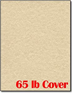 Brown Parchment Cardstock 25 Sheets