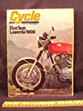1973 73 March CYCLE Magazine  Features  Road Test on Laverda 1000 Three  Honda 250 Dlsinore  Yamaha TX 750    Triumph X 75 Hurricane