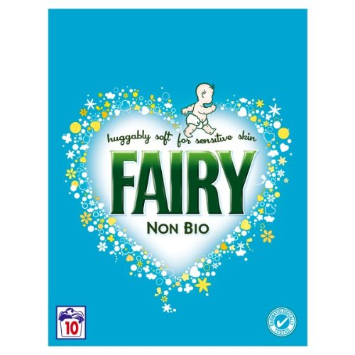 Fairy Non Bio Laundry Powder 10 Washes (Pack of 6)