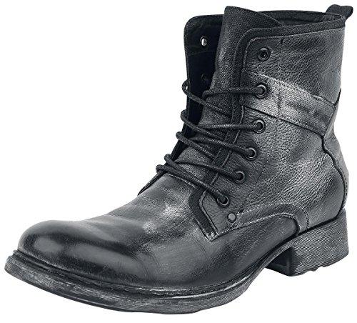 Black Premium by EMP Lace-Up Boot Anfibi/Stivali nero EU42