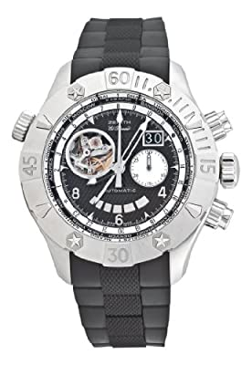 Zenith Men's 03.0526.4037/21.R642 Defy Classic Open Grande Date Multicity 24 Hour Timezone Watch