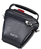 DigiETUI Ever-Ready Case Leather for Canon EOS-M 18 - 55 mm