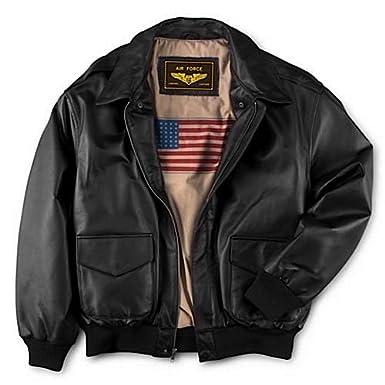 Landing Leathers 男式空军轰炸机飞行员真皮夹克