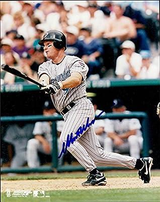 Williams, Matt (Arizona Diamondbacks) Autographed/Hand Signed 8x10 Photo