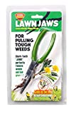 The Original Patented Lawn Jaws Sharktooth Weeding & Gardening Tool - Pull from the Root Easily!
