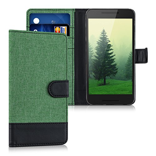 kwmobile-wallet-case-canvas-cover-for-lg-google-nexus-5x-flip-case-with-card-slot-and-stand-in-mint-