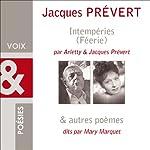 Intempéries et Poèmes | Jacques Prévert