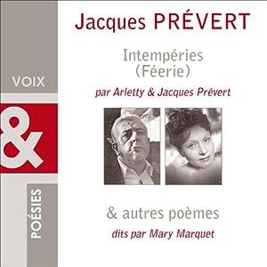 Intempéries et Poèmes Audiobook