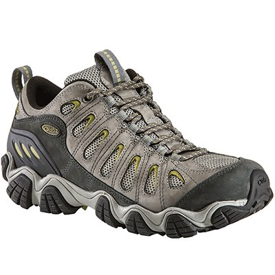 Oboz Men'S Sawtooth Low Light Hiking Shoe,Pewter,12 M Us