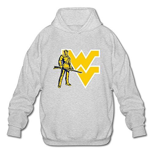 male-vintage-long-sleeve-ncaa-west-virginia-mountaineers-long-sleeve-hoodie-hooded-size-l-color-ash