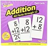 Addition 0-12 (all facts) Flash Cards