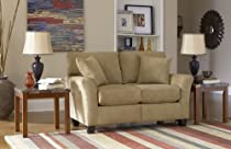 Big Sale SoFab Shag Loveseat in Prairie
