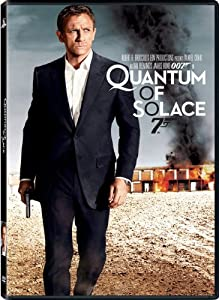 "Daniel Craig's second portrayal of James Bond is in the film ""Quantum of Solace."""