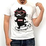 (モディッシュガゼ) Modish gazeヒゲネコ 半袖 Tシャツ
