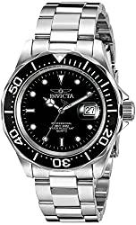 Invicta Pro-Diver Analog Black Dial Mens Watch - 9307