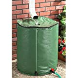 50-gallon Portable Rain Barrel