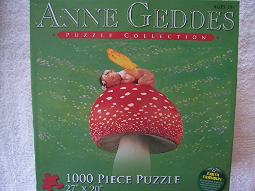 The Art of Anne Geddes - 'Sleepy Mushroom' - 1000 Pc Puzzle
