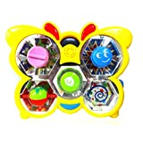 Very Cute Battery Operated Dancing Butterfly's Music Toy - Kaleidoscope Patterns Musical Rainbow Lights - For...