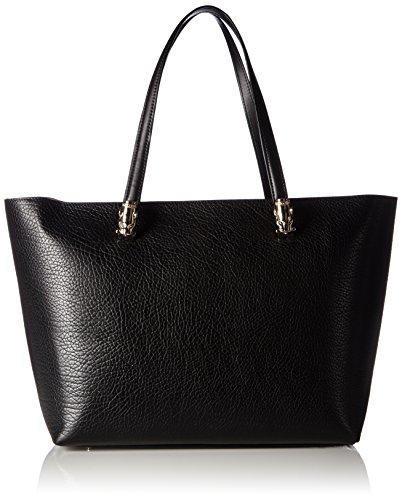 CavalliMedium shopping bag Pantera OhMyGold 002 - Borse a Tracolla Donna , Nero (Schwarz (Black 999)), 33x28x17 cm (B x H x T)