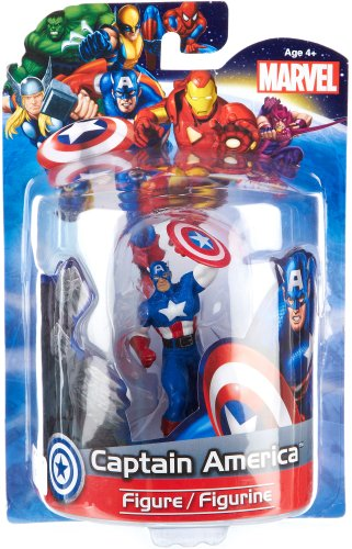 Sale alerts for Jamn Products Jamn Products Jamn 10001 Jamn Products 4-Inch Marvel Figure, Captain America - Covvet